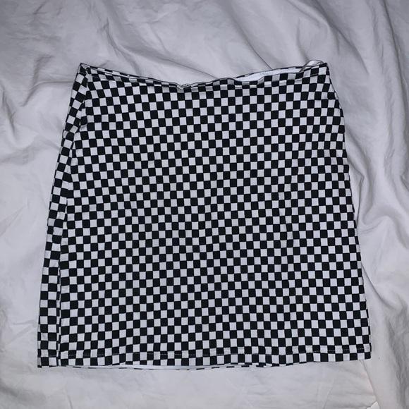 LF Dresses & Skirts - Wild Honey checkered mini skirt